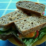 Healthy homemade bread