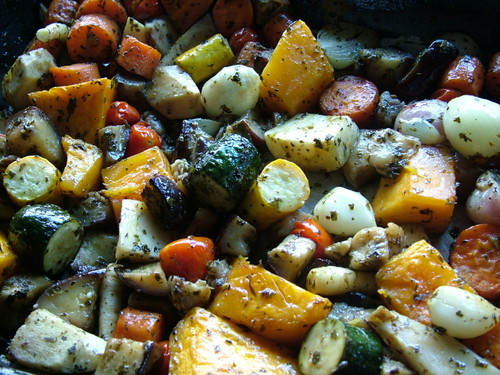 low GI Roast veg