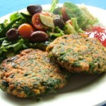 Very Herby Salmon Patties
