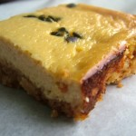 Passionfruit Cheesecake Slice