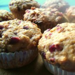 Pomegranate Muffins