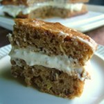 Hummingbird Cake with Banana Cream Filling