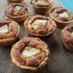Pear, Almond and Honey Tartlets