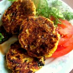 Pumpkin and Cheese Patties