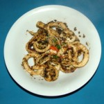 Lime and Garlic Calamari