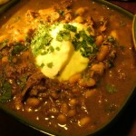 Moroccan Style Kangaroo Tagine with White Beans and Preserved Lemon