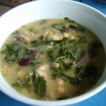 Chickpea and Silverbeet Lemon Soup