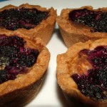 Mulberry Custard Tarts