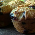 Blueberry and Oatbran Muffins