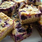Blueberry and Lemon Ricotta Slice