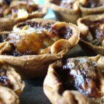 Caramelised Onion, Thyme and Soft Cheese Tartlets