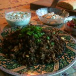Moroccan Style Spiced Kangaroo Mince