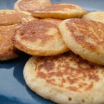 The Breakfast Challenge – Cottage Cheese Pikelets (with and without Sourdough)