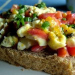 The Breakfast Challenge – Soft Boiled Egg and Tomato on Toast
