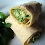 The Breakfast Challenge – Avocado, Lime and Coriander Wrap