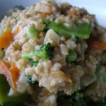 The Breakfast Challenge – Oat Risotto