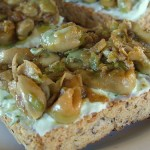 The Breakfast Challenge – Broad Beans on Toast