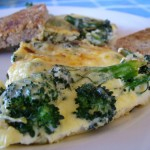 The Breakfast Challenge – Cheesy Broccoli Omelette