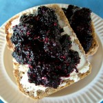 The Breakfast Challenge – Mulberry Not-Jam With Yoghurt Cream Cheese