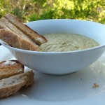 The Breakfast Challenge – Broad Bean Dip with Soldiers