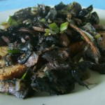The Breakfast Challenge – Garlic Mushrooms