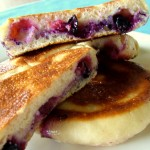 The Breakfast Challenge – Sourdough Bolo Levedo Stuffed With Blueberries