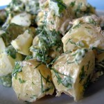 The Breakfast Challenge – Potato Salad with Two Minute Mayonnaise