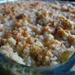 Zucchini Macaroni Cheese With Crumbles