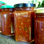 Tamarillo and Chili Sauce