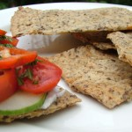 Seedy Sourdough Crispbread