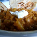 Balti Style Pumpkin and Chickpea (Mild) Curry