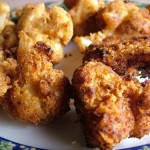Greek Crumbed Cauli