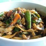 Malay Style Sweet and Spicy Vegie Noodle Stir Fry