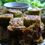 Zucchini, Carrot and Sunflower Seed Slice
