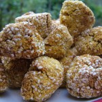 Pumpkin Pecan and Polenta Balls