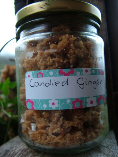 crystallised ginger