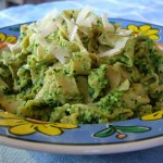 Fettucini With Kale Pesto