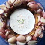 Bunya Nuts with Kaffir Lime and Ginger Dip