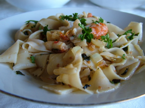 red claw pappardelle