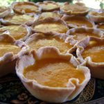 Forty Little Mango Cheesecakes